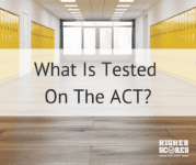 What Is On The ACT?